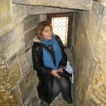 in an alcove