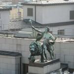 neighboring rooftop
