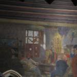 inside the Italian court