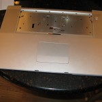 "MacBook Pro 17"" case with trackpad from eBay"